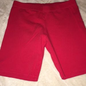 Red Bike Shorts